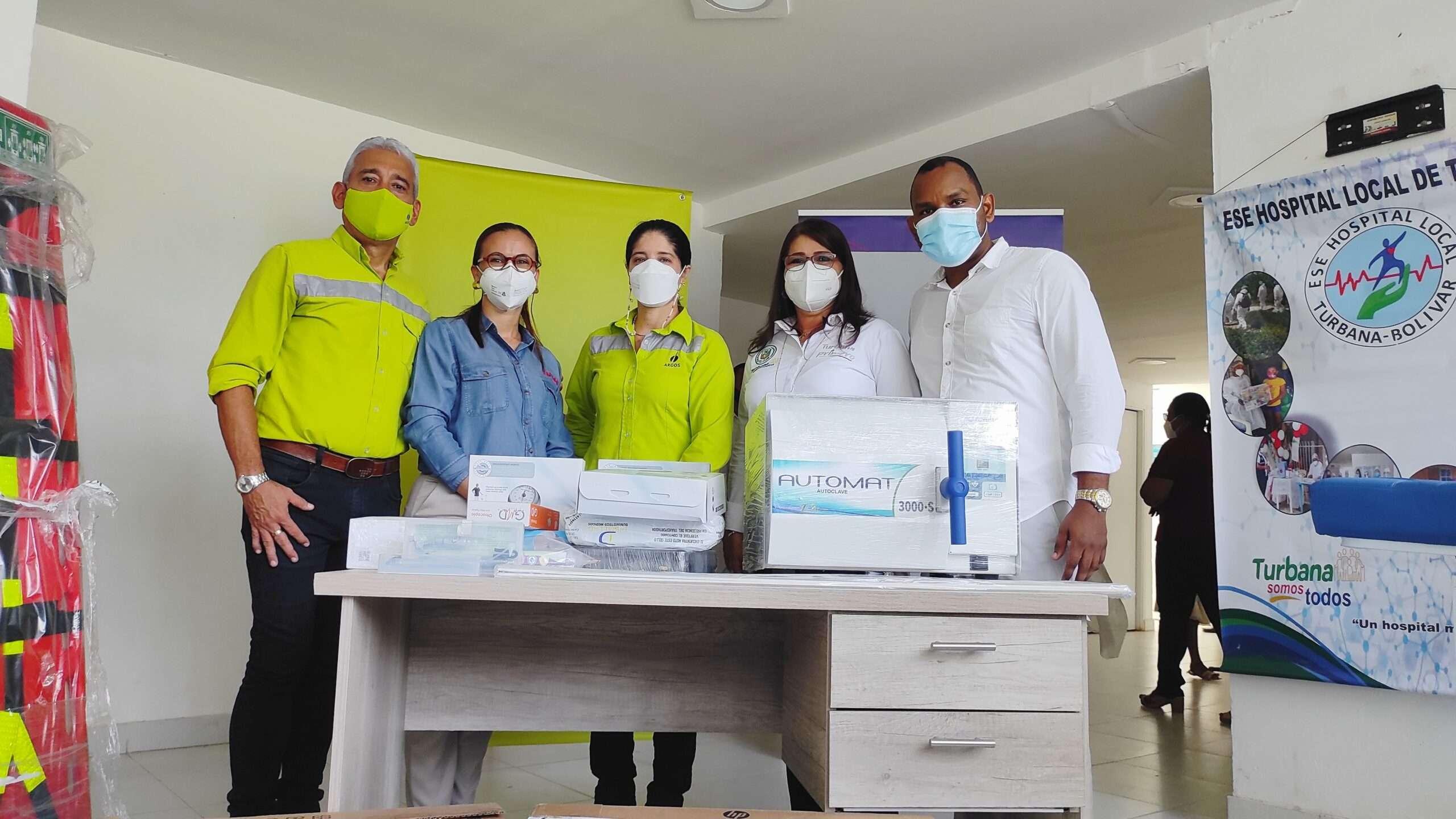 Hospital local de Turbana recibe nuevos insumos y mobiliarios médicos