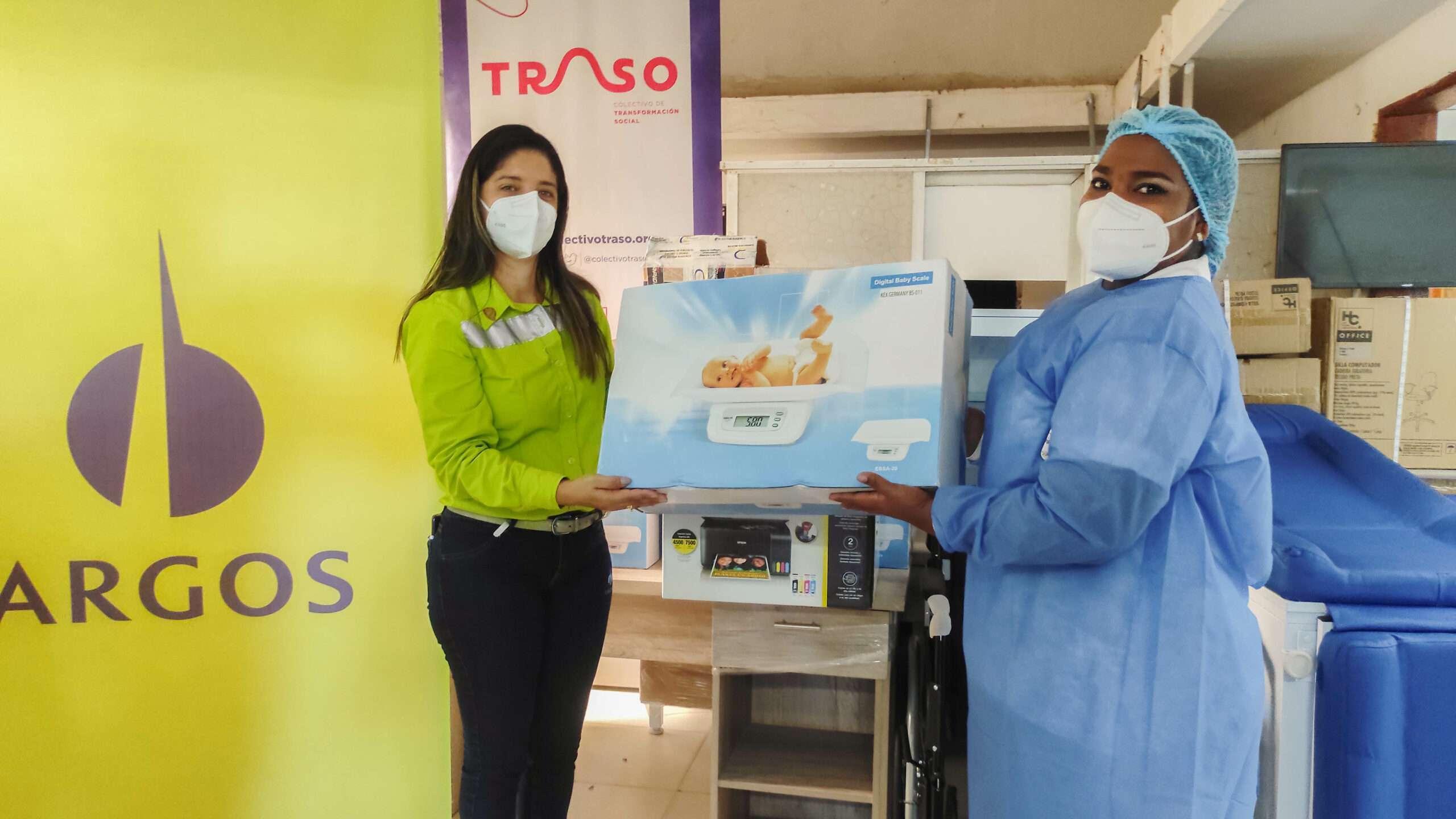 Centro de Salud de Pasacaballos recibe donación de implementos e insumos